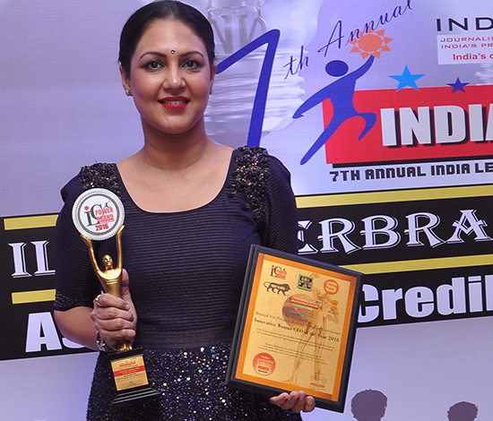 Wyndham Hotel Group's regional vice president-Eurasia Deepika Arora awarded at India Leadership Conclave 2017 as Transformational Woman Business Leader 2017